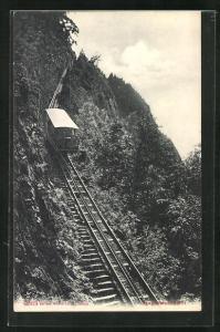 AK Blick auf die Bürgenstockbahn