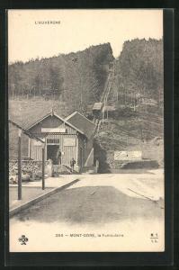 AK Mont Dore, le Funiculaire, Bergbahn