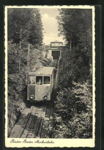 AK Baden-Baden, Merkurbahn