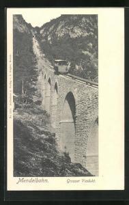 AK Mendelbahn, Grosser Viadukt