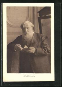 AK Portrait des Maler's Auguste Rodin