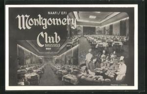 AK Brussels, Montgomery Club, Blick ins Restaurant