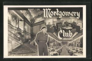 AK Brussels, Montgomery Club, Innenansichten