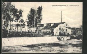 AK Tomar, Fabrica de papel de Mariannaia da Companhia de papel do Prado