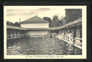 AK Bad Ischl, Dr. Ritter von Wirer`sche Bade-Stiftung, Schwimmschule