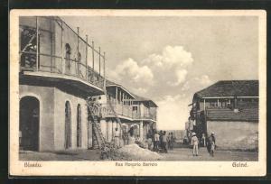 AK Bissau, Rua Honorio Barreto