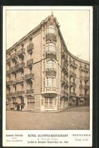 AK Monte-Carlo, Hotel-Restaurant Olympia