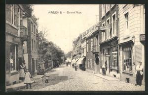 AK Marche, Grand`Rue, Strassenpartie