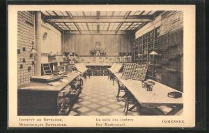 AK Immensee, Missionshaus Bethlehem, Der Markensaal, Innenansicht