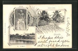 AK Libreville, Pahouin, Route a Glass, St. Pierre