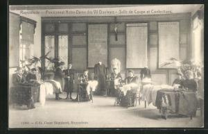AK Ruysselede, Pensionnat Notre-Dame des VII Douleurs, Salle de Coupe et Confections