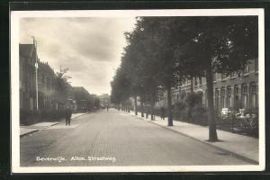 AK Beverwijk, Alkm. Straatweg, Strassenpartie