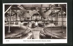 AK Dublin, Guinness`s Brewery, Mash Tuns for Malt