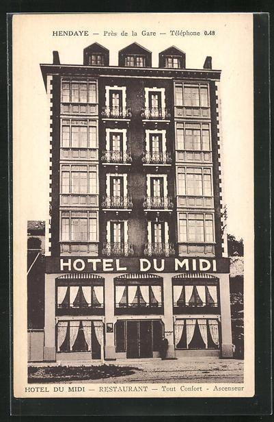 AK Hendaye, Hotel-Restaurant du Midi 0