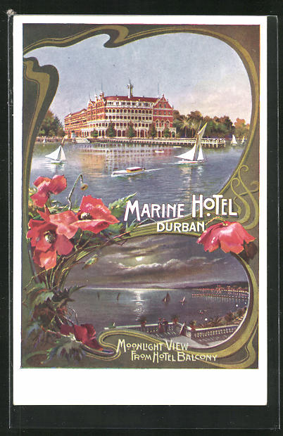 AK Durban, Marine Hotel, Moonlight View from the Balcony 0