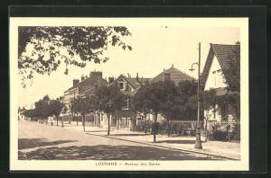 AK Louhans, Avenue des Gares