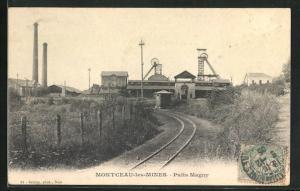 AK Montceau-les-Mines, Puits Magny