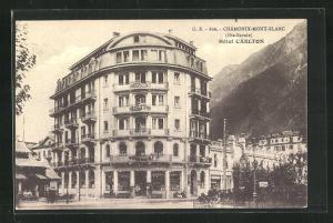 AK Chamonix-Mont-Blanc, Hotel Carlton