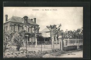 AK Boisney, La Mairie et l`Ecole