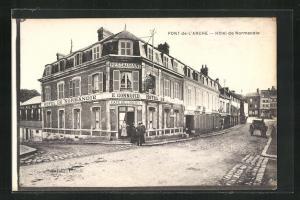AK Pont-de-L`Arche, Hotel de Normandie