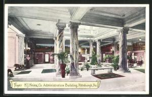 AK Pittsburgh, PA, H. J. Heinz Co. Administration Building, Foyer