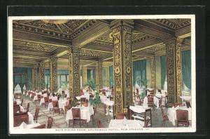 AK New Orleans, LA, Grunewald Hotel, Main Dining Room