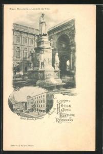 AK Milano, Hotel Grande Bretagne & Reichmann