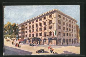 AK Milano, Hotel Baviera & Gare, Rue P. Castaldi 7