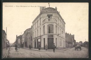 AK Roanne, Rue Mulsant et Rue de l`Entrepot