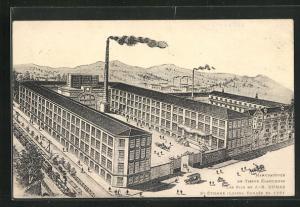 AK Saint-Étienne, Manufacture de Tissus Élastiques Les Fils de J.-B. Dumas