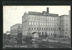 AK Paris / Ont., Pen-Angle (Zirkel) Factory Penman