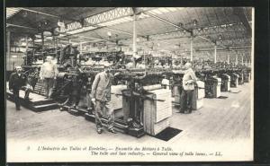 AK Tulle, L`Industrie des Tulles et Dentelles, Ensemble des Métiers