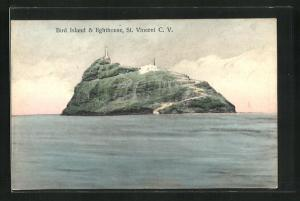 AK St. Vincent, Bird Island & Lighthouse