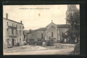 AK Echandelys, Arret des Autobus et Place Centrale