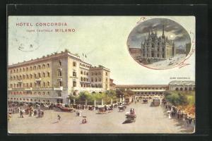 AK Milano, Hotel Concordia am Hauptbahnhof