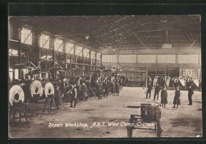 AK Cranwell, A.R.S. West Camp, Repair Workshop