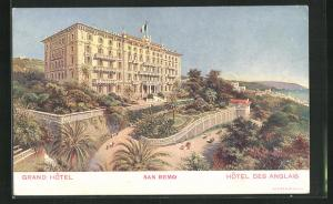 AK San Remo, Grand Hotel des Anglais