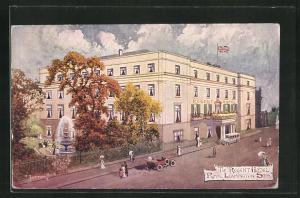 Künstler-AK Royal Leamington Spa, The Regent Hotel