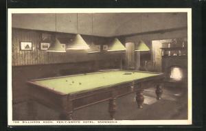 AK Snowdonia, Pen-Y-Gwryd Hotel, The Billard Room