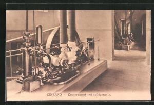 AK Torino, Cinzano, Compressori pel refrigerante
