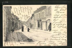 AK Bonny, La Grande-Rue, Strassenpartie