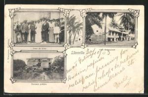 AK Libreville, Gens de noce, Cafe Bettencourt, Travaux publics
