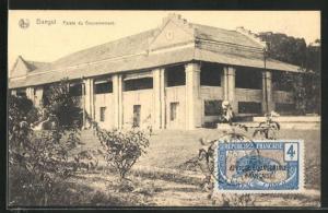 AK Bangui, Palais du Gouvernement