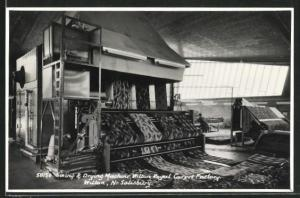 AK Wilton, Sizing & Drying Machine at Wilton Royal Carpet Factory