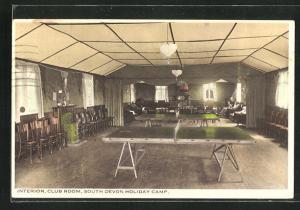 AK Paignton, Interior Club Room at South Devon Holiday Camp