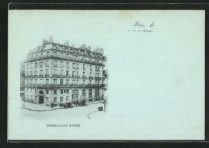 AK Paris, Hotel Normandy et Rue de l'Echelle