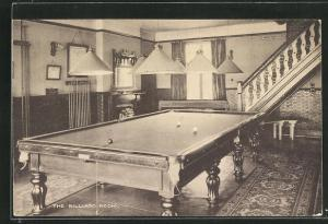 AK Llandudno, The Craig-y-dom, The Billiard Room
