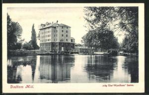 AK Dedham, Mill, Ortsansicht