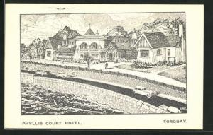 AK Torquay, Phyllis Court Hotel