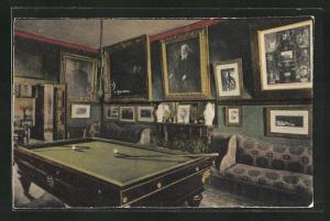 AK Guernsey, Victor Hugo's Residence, Hautville House